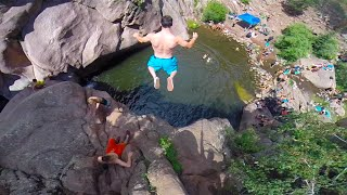 Paradise Cove Cliff Jumping GoPro HD