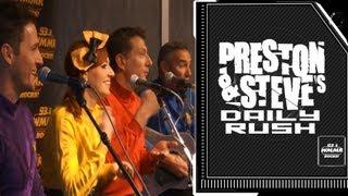 The Wiggles - Preston & Steve's Daily Rush