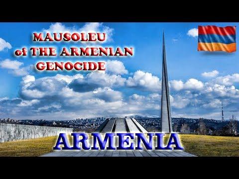 Armenian Genocide memorial complex,Yerevan - To the Caspian Sea ep 31-Travel vlog calatorii tourism