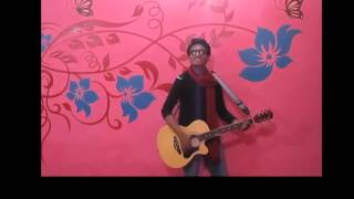 Atif Aslam songs cover Dil HAray by huzaifa zaheer