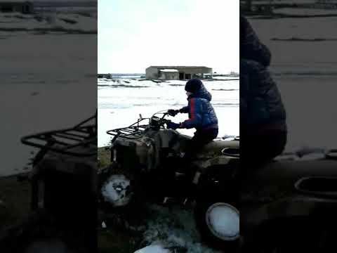 видео: Стелс 500 по снегу