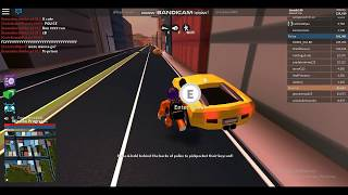My first gaming vedio on roblox jailbreak
