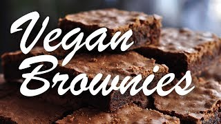 How To Make Vegan Brownies! Chocolatey, Moist, And Tasty!