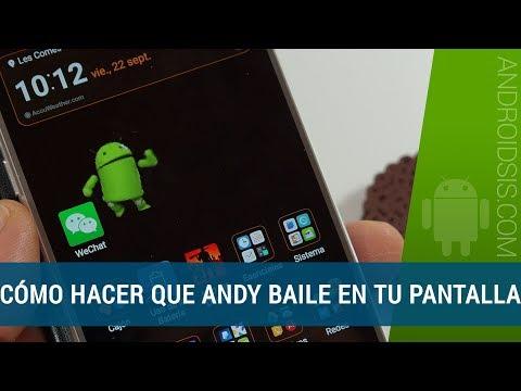 Cómo hacer que Andy baile en la pantalla de tu Android