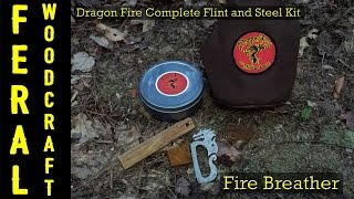 Dragon Fire Complete Flint and Steel Kit - Fire Breather