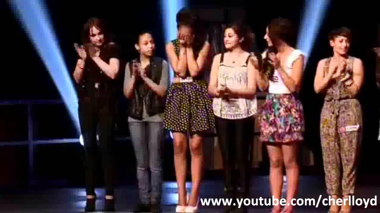 X Factor Judges 2010 Cher Lloyd - Girls - W...