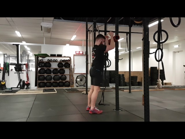 Overhead press with protection and exorotation