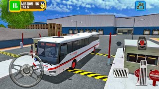 Star Transport Bus Driving - Truck Driver: Depot Parking Simulator - Android Gameplay