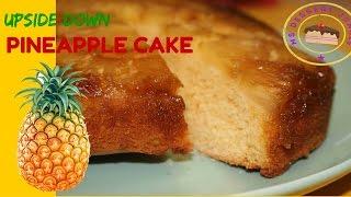 LOW FAT UPSIDE DOWN PINEAPPLE CAKE RECIPE