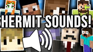 I REPLACED THE MINECRAFT SOUNDS WITH HERMITCRAFT VOICES!