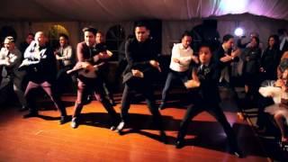 Professional Dancers and Groom Surprise Wedding Dance!!!