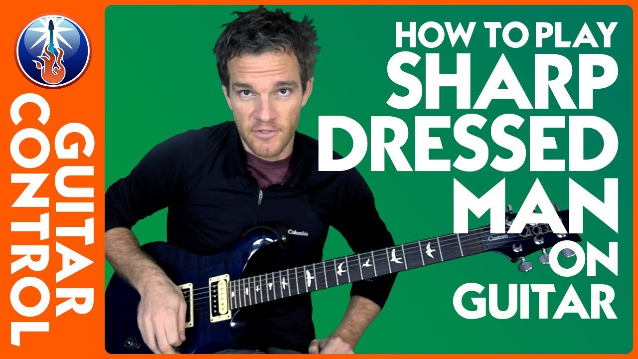 How To Play Sharp Dressed Man On Guitar Zz Top Lesson Youtube