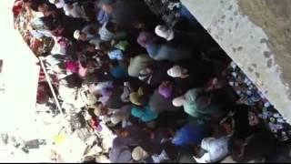 تحرش جنسي في سوق مزدحم