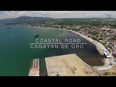 Uncut: Coastal Road Cagayan de Oro June 2017 Progress Update 4K