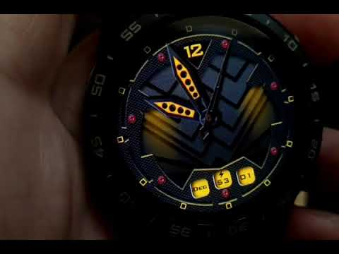 LOKMAT LOK 01 4G watch faces and full android watch.
