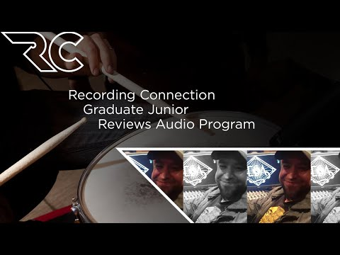 Recording Connection Graduate Junior Reviews Audio Program