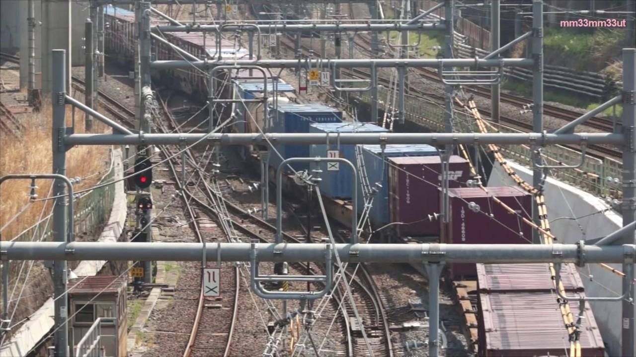 貨物列車東北貨物線と山手貨物線...