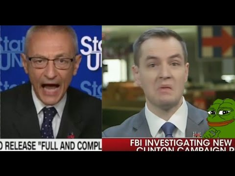 PANIC In Hillary's Campaign - Top HRC Staff vs New FBI Investigation 10/30/16