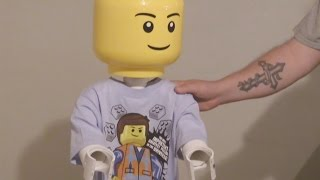 How To Make A Giant Lego Man Out Of Pvc Tubing! Diy