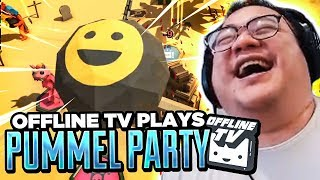 OFFLINE TV PLAYS PUMMEL PARTY! (Highlights) feat. Lily, Toast, Michael and Fed | Pummel Party