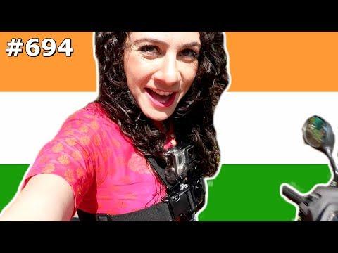 SCOOTING AROUND GOA GOPRO JUGAAD INDIA DAY 694   TRAVEL VLOG IV