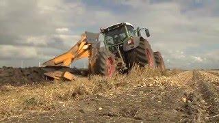 TraktorTV Folge 48 - Ein Fendt Vario 939  und ein Cameco 805 mit 600 PS beim Tiefpflügen