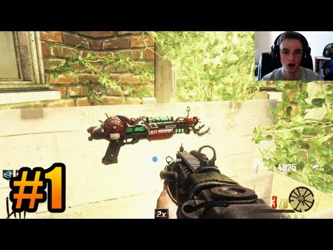 """IT BEGINS!"" - BURIED Zombies w/ Ali-A #1 - (Black Ops 2 Zombies Gameplay)"