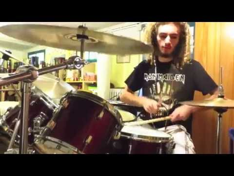 Running Wild / Riding the Storm / Drum cover mp3