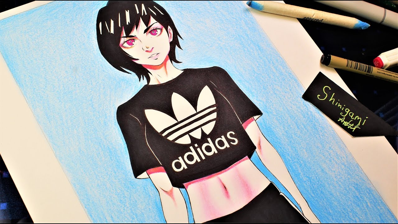 Gopnik, anime, anime girls, russia, vodka, adidas, slavic background. Adidas Anime Girl