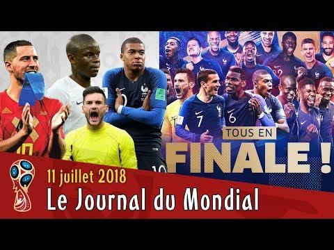 La FRANCE EN FINALE, la BELGIQUE ne digère pas, CROATIE-ANGLETERRE. Le Journal du Mondial 2018