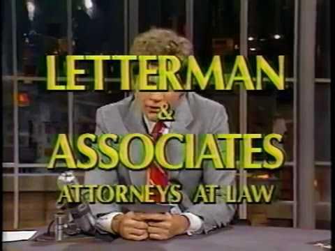 11 20 1987 Letterman John Malkovich Victoria Principal