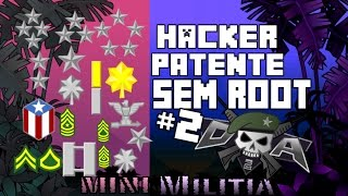 COMO HACKEAR A PATENTE DO MINI MILITIA SEM ROOT #2