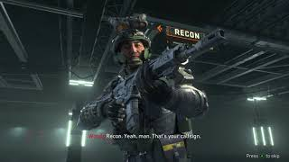 Call of Duty Black Ops 4 - Specialist Story Recon: Frank Vision Pulse & Sensor Dart Cutscene (2018)