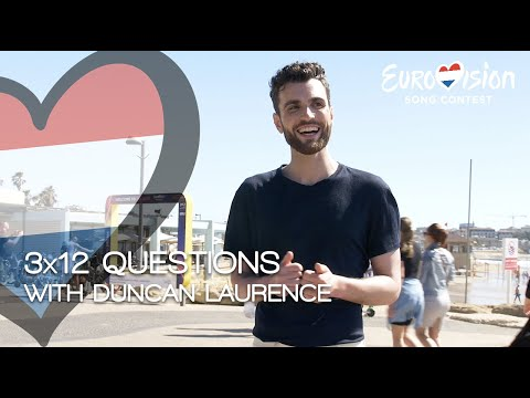 3x12 questions with Duncan Laurence | TeamDuncan