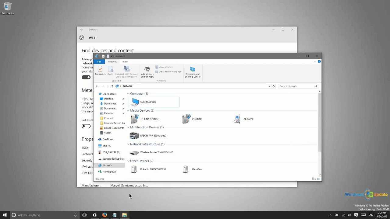 Windows 10 Connecting To Another Computer Over A Simple Network Wiring Whole House
