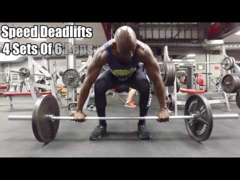 Repeat MMA Strength Workout - Lower Body by Funk Roberts