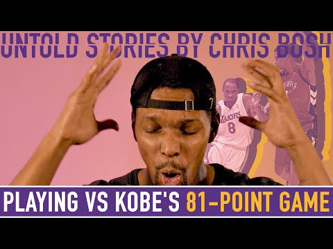 Chris Bosh Reacts to Playing Against Kobe Bryant's 81-Point Game