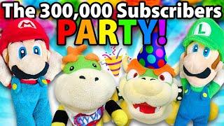 Crazy Mario Bros: The 300,000 Subscribers Party!