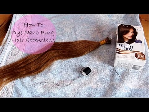 Diy how to dye nano ring hair extensions youtube diy how to dye nano ring hair extensions pmusecretfo Choice Image
