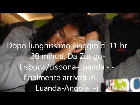 Per la prima volta Sara in Angola-Luanda
