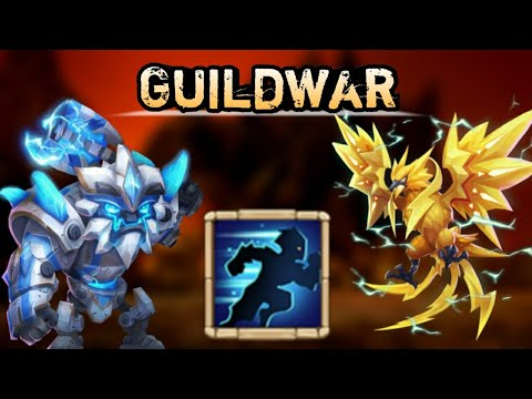 Guildwar | Sasquatch And Lazulix | 9/9 Stealth | Base Destroyer | Castle Clash