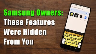 5 GREAT Hidden Feaтures Every Samsung Galaxy Owner Should Know (S21, Note 20, S20, A71, A51, etc)