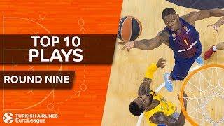 Top 10 Plays  - Turkish Airlines EuroLeague Regular Season Round 9