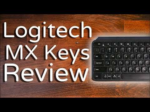 Unboxing & Review of the Logitech MX Keys Advanced Wireless Keyboard