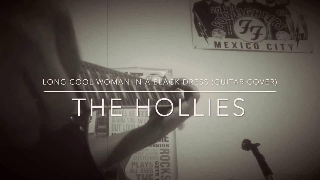 Long cool woman in a black dress the hollies acoustic ceiling