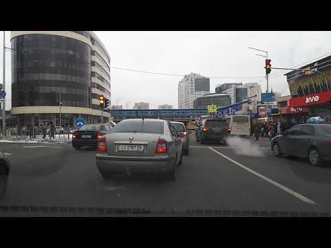 Движение по кольцу метро Левобережная