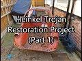 Heinkel Trojan Restoration Project (part 1)