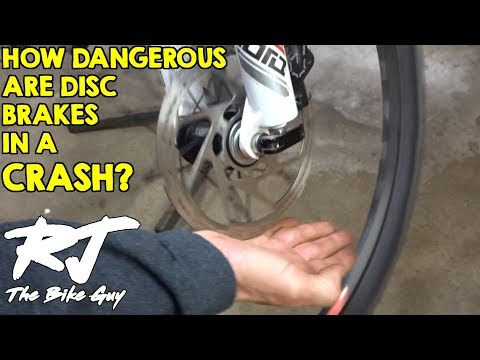 How Dangerous Are Bike Disc Brakes In A Crash?