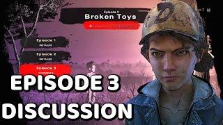 "DISCUSSING The Walking Dead:Season 4: ""The Final Season"" Episode 3 ""Broken Toys""  (TWD S4 EP3)"