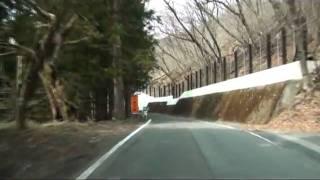 【車載動画】栃木県道めぐりシリーズ r195裏見滝線